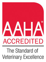 Falmouth Veterinary Hospital in Maine is AAHA-accredited.